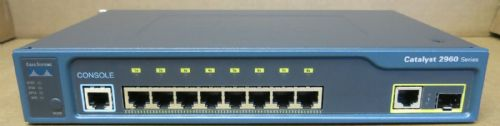 Cisco Catalyst WS-C2960-8TC-L 2960 Managed 8-Port Fast Ethernet PoE Switch